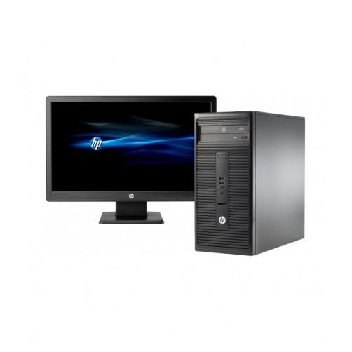 HP 280 G1 G3250, 4GB Ram, 500GB HDD, Dos, V212A Lcd