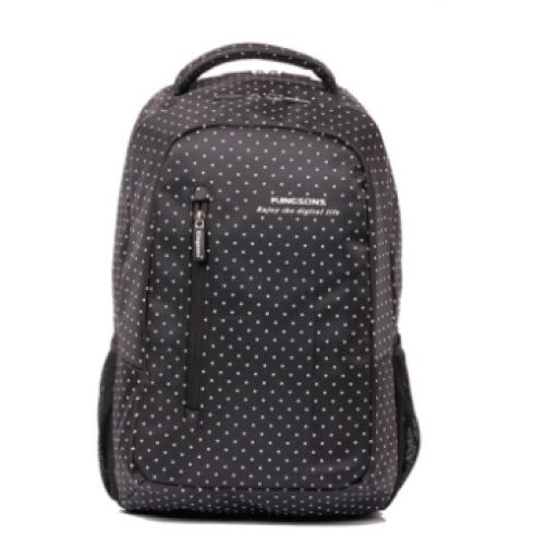"""KB 14.5"""" Hot Dot Series, Laptop Backpack - (White Dot)"""