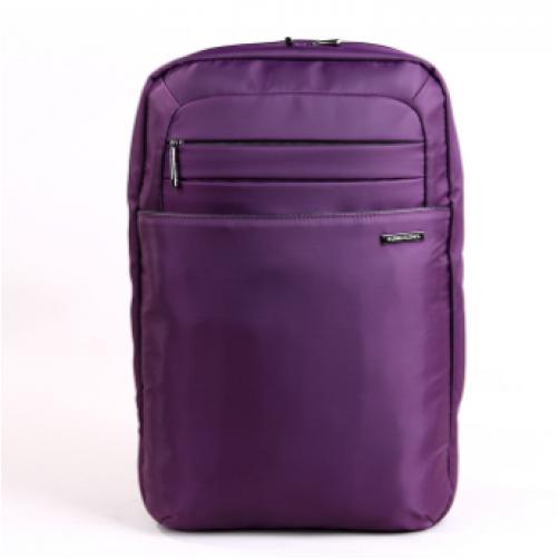 """KB 15.6"""" Campus Series LAPTOP BACKPACK - (Brown/red/purple)"""