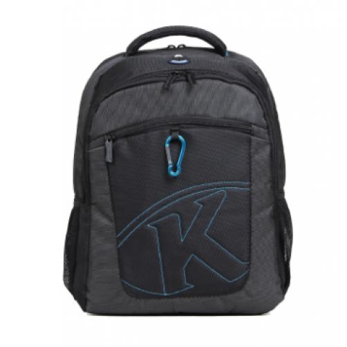"KB 15.4"" K-SERIES,LAPTOP BACKPACK-Black/Red"