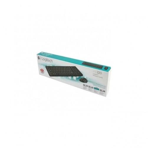 Logitech Wireless Keyboard and mouse COMBO - MK220