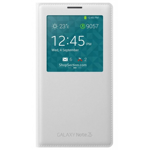 S View Cover Note 3 - White